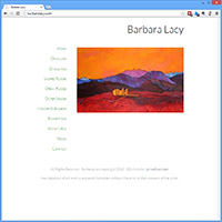 Barbara Lacy – New Website